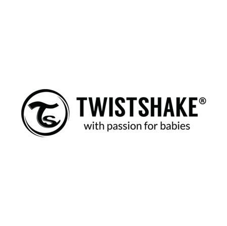 Twistshake® Dva slinčka Grey&White (4+m)