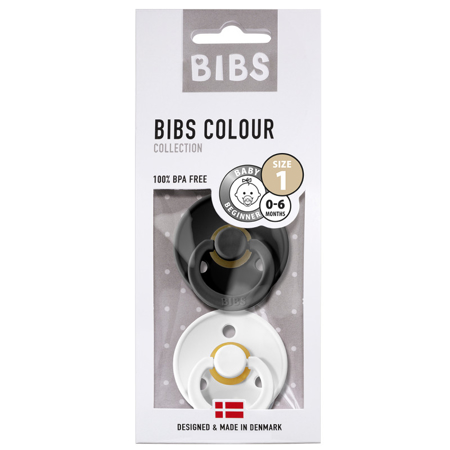 Bibs® Duda Black & White (0-6m)