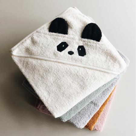 Slika Liewood® Brisača s kapuco Polar Bear Sandy 70x70