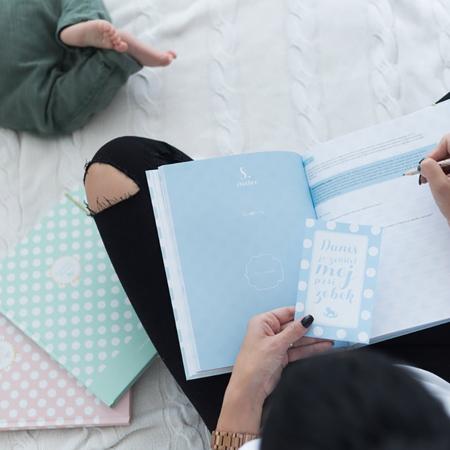 Z ljubeznijo, Mama® Dojenčkov dnevnik Moder