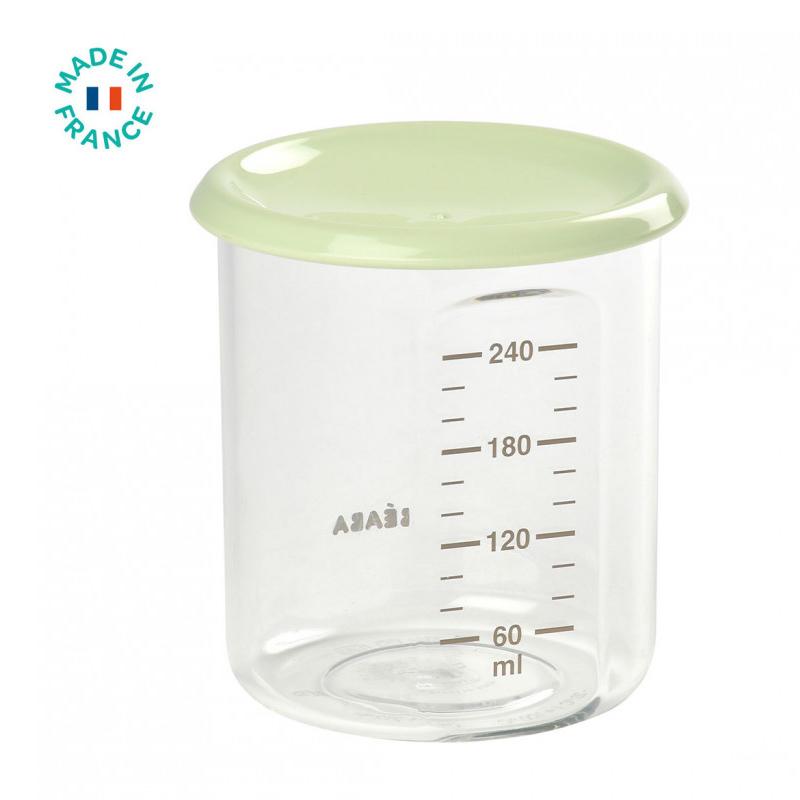 Beaba® Posodica z merico Green 240ml