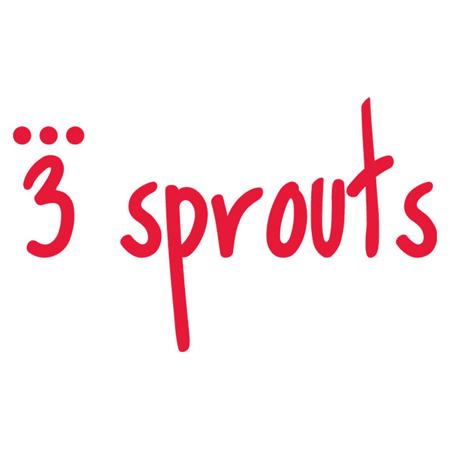 3Sprouts® Steklenička s slamico Levček