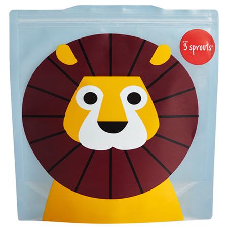 Slika 3Sprouts® Vrečka za malico in prigrizke Levček