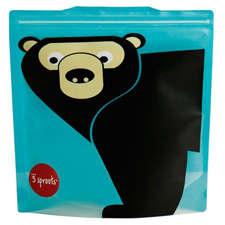 Slika 3Sprouts® Vrečka za malico in prigrizke Medvedek