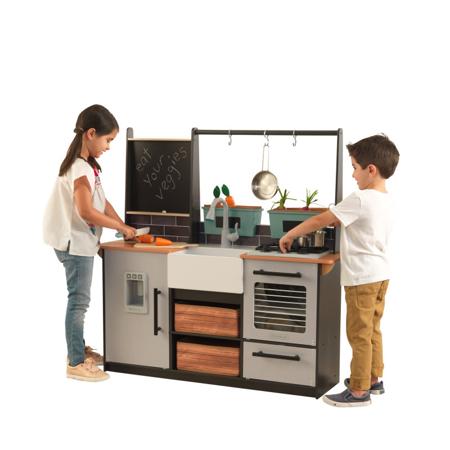 Slika KidKraft® Otroška kuhinja z dodatki Farm to Table