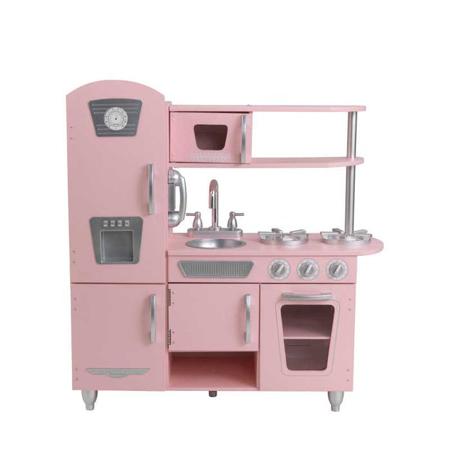 Slika KidKraft® Otroška kuhinja Vintage Pink/Silver