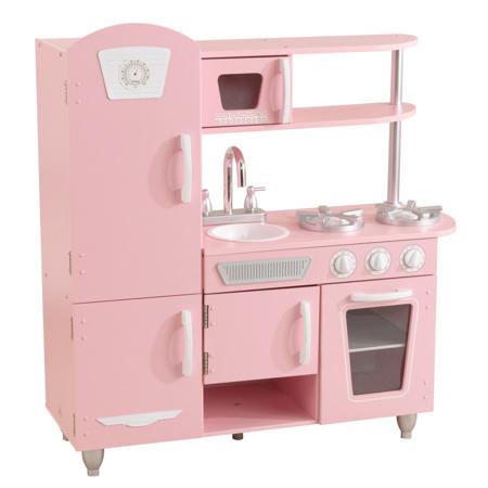 Slika KidKraft® Otroška kuhinja Vintage Pink/White
