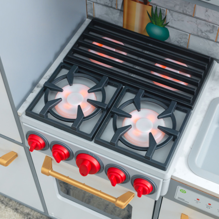 KidKraft® Otroška kuhinja z dodatki Uptown Elite