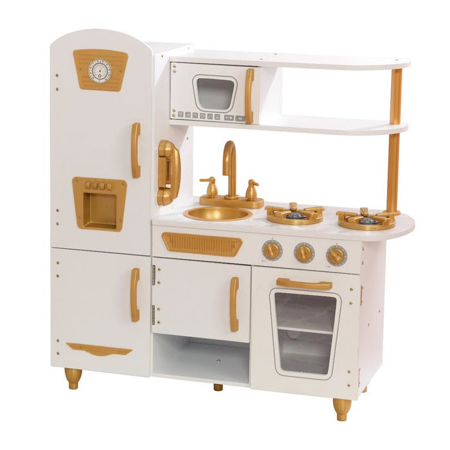 Slika KidKraft® Otroška kuhinja Vintage White/Gold