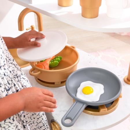 KidKraft® Otroška kuhinja Vintage White/Gold