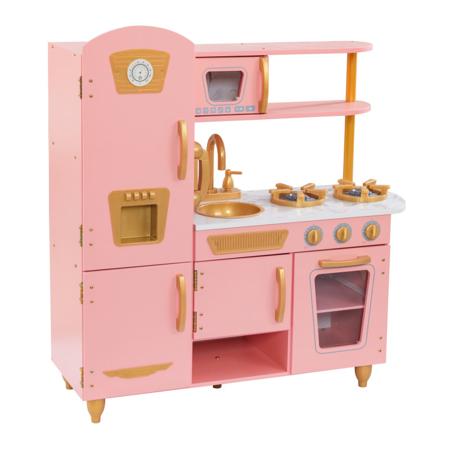 Slika KidKraft® Otroška kuhinja Vintage Pink/Gold