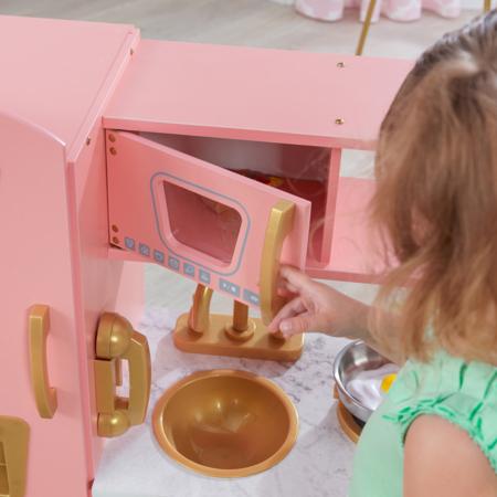 KidKraft® Otroška kuhinja Vintage Pink/Gold