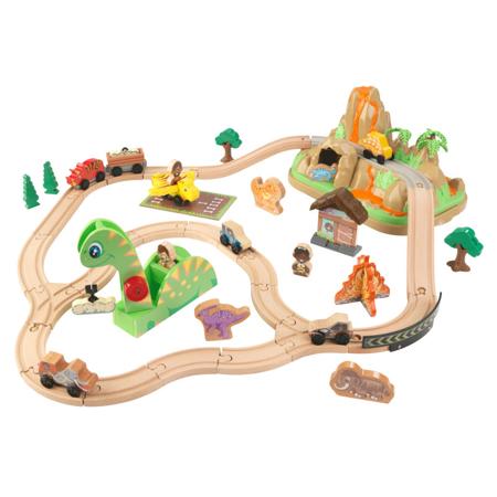 Slika KidKraft® Igralni set z železnico Dinosaur