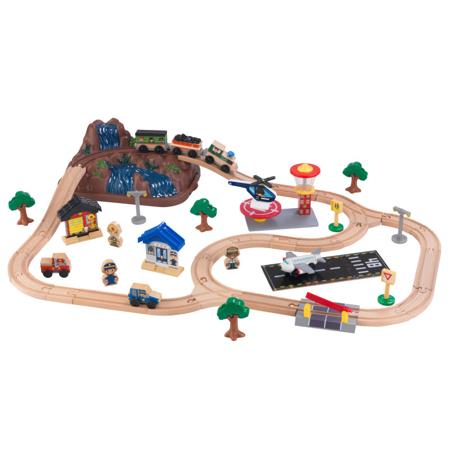 Slika KidKraft® Igralni set z železnico Train