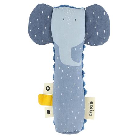 Trixie Baby® Piskajoča ropotuljica Mrs. Elephant