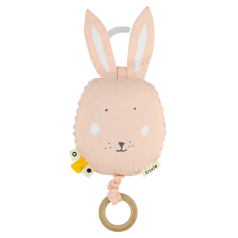 Trixie Baby® Glasbena igračka Mrs. Rabbit
