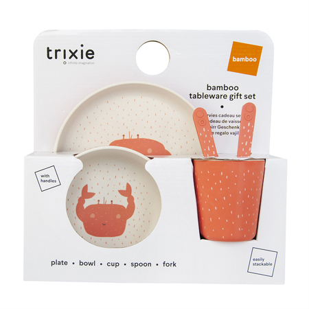 Slika Trixie Baby® Jedilni set Mrs. Crab