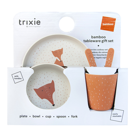 Slika Trixie Baby® Jedilni set Mr. Fox