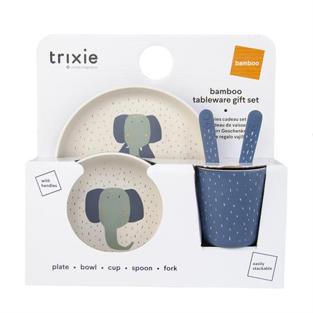 Slika Trixie Baby® Jedilni set Mrs. Elephant