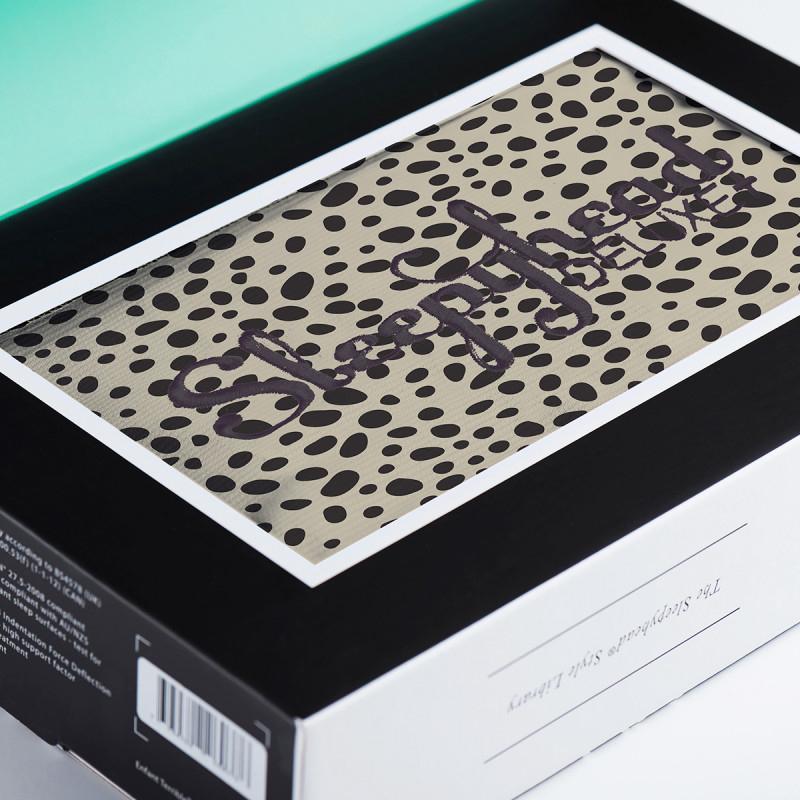 Sleepyhead® Bombažna prevleka za gnezdece Deluxe+ (0-8m) - Painted Spots