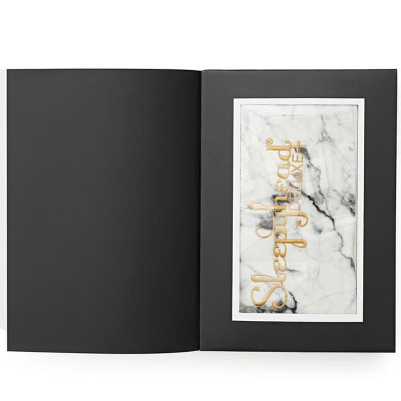Sleepyhead® Bombažna prevleka za gnezdece Deluxe+ (0-8m) - Carrara Marble