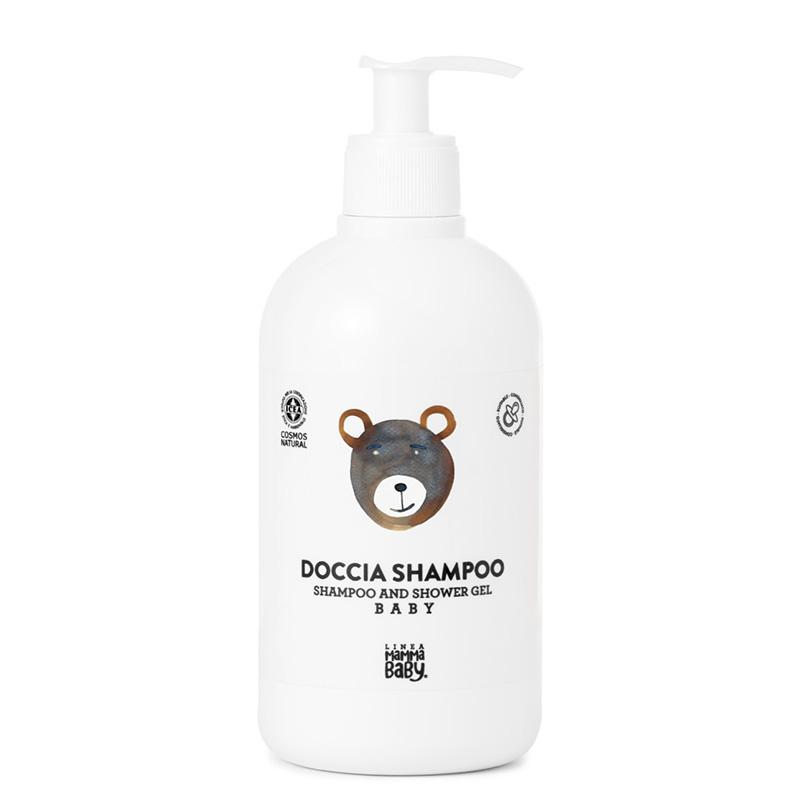 Linea MammaBaby® Gel za prhanje in šampon za lase Giacomino 500 ml