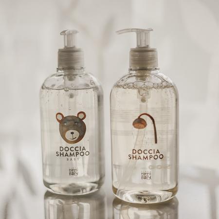 Slika Linea MammaBaby® Gel za prhanje in šampon za lase Gustavino 500 ml