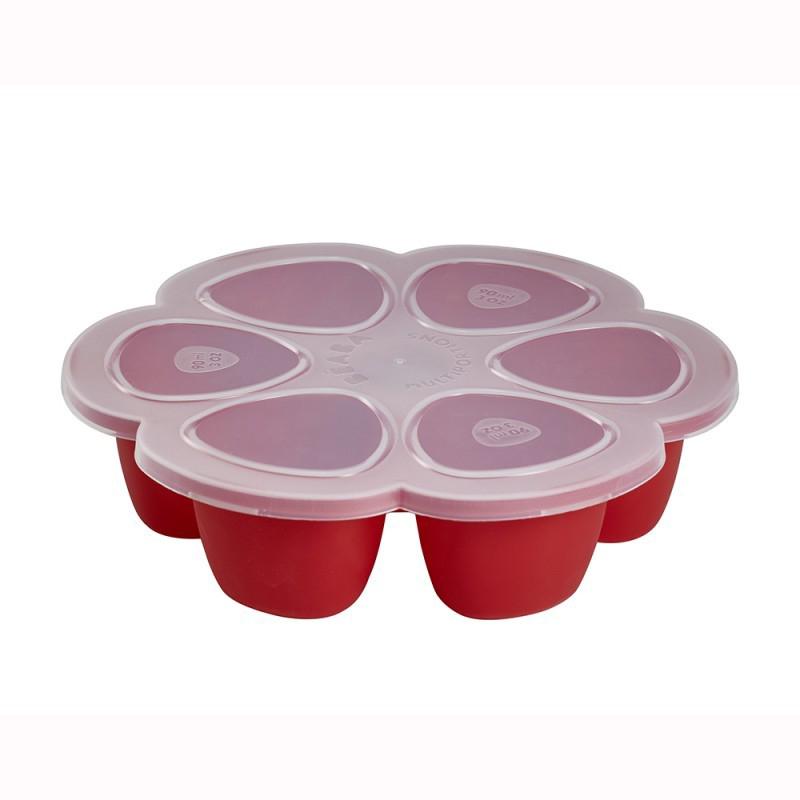 Beaba® Predelna posodica za zmrzovanje 6x150ml Red