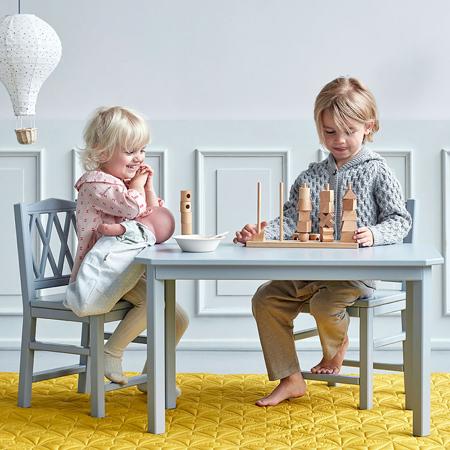 Slika CamCam® Otroška miza Grey
