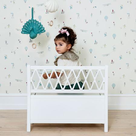 CamCam® Otroška klop za shranjevanje White