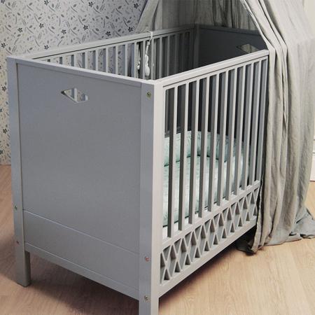 CamCam® Otroška postelja Grey 120x60