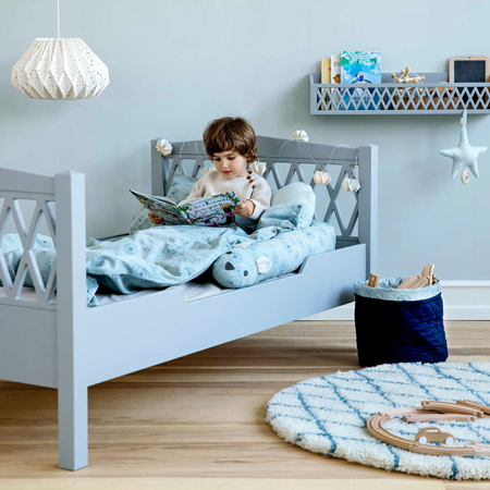 CamCam® Otroška postelja Grey 90x160