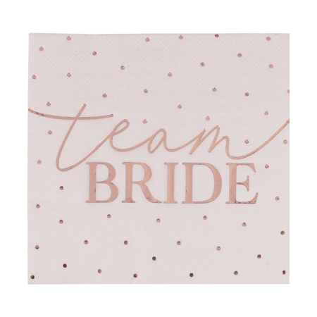 Slika Ginger Ray® Serviete Team Bride 16 kosov