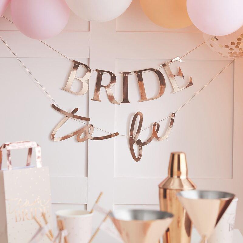 Ginger Ray® Viseči napis Bride To Be