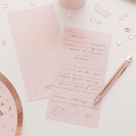 Slika Ginger Ray® Kartice z nasveti Bride To Be