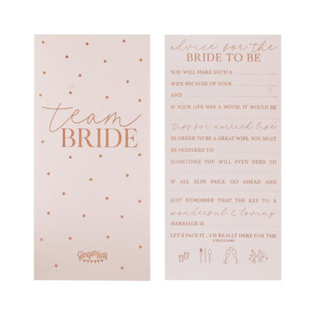 Slika Ginger Ray® Kartice z nasveti Bride To Be
