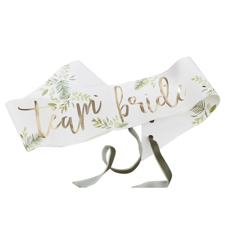 Slika Ginger Ray®  Pasovi za dekliščino Team Bride Botanical 6 kosov
