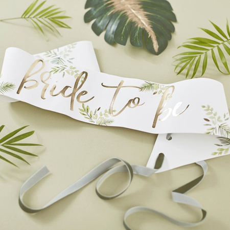 Ginger Ray®  Pas Bride To Be Botanical