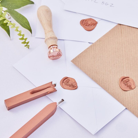 Slika Ginger Ray® Žig z voskom Rose Gold