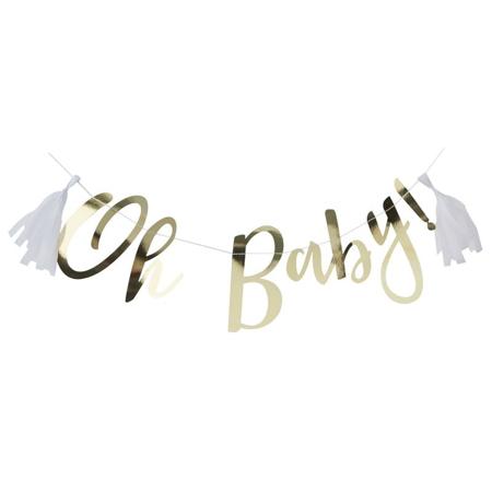 Slika Ginger Ray® Viseči napis Gold Oh Baby!
