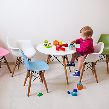 EM Furniture Eiffel Otroški stolček Grey