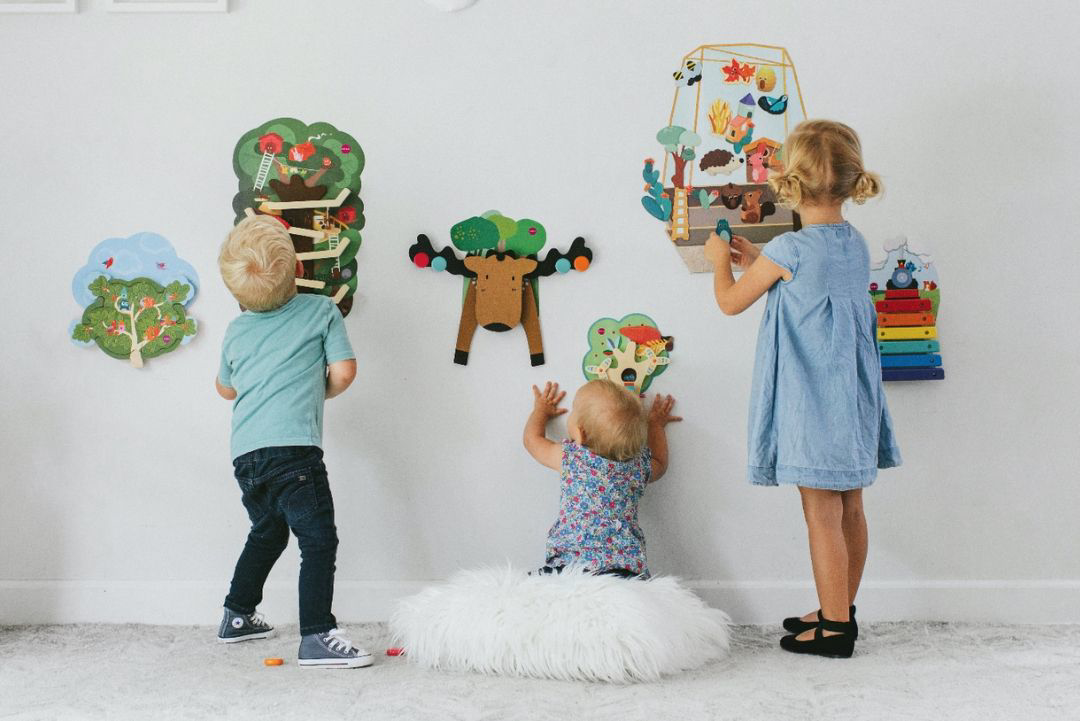 Didaktične stenske igrače Oribel Vertiplay