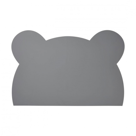 Slika Liewood® Silikonska podloga za risanje Mr Bear Stone Grey