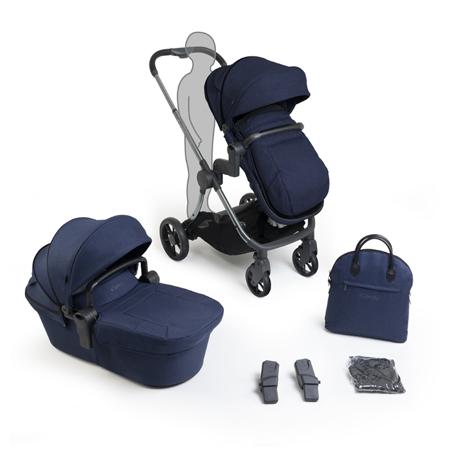 iCandy® Otroški voziček s košaro 2v1 Lime Lifestyle Navy