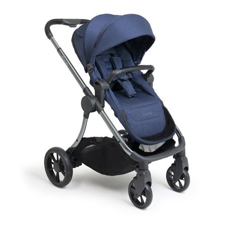 Slika iCandy® Otroški voziček s košaro 2v1 Lime Lifestyle Navy