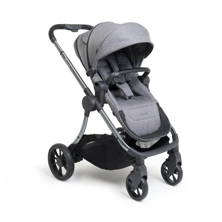 Slika iCandy® Otroški voziček s košaro 2v1 Lime Lifestyle Charcoal