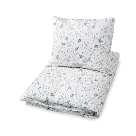 Slika CamCam® Otroška posteljnina Pressed Leaves Blue Junior 100x140, 45x40
