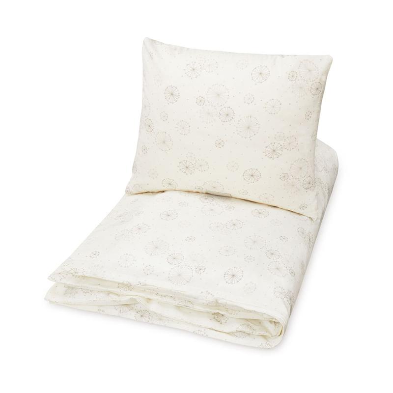 CamCam® Otroška posteljnina Dandelion Natural Junior 100x140, 45x40