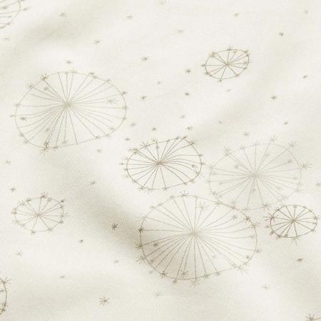 Slika CamCam® Otroška posteljnina Dandelion Natural Junior 100x140, 45x40