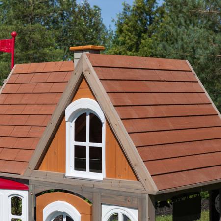 KidKraft® Lesena hiška Greystone Cottage